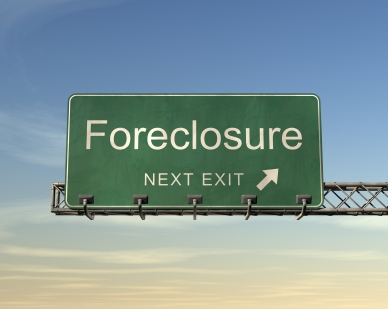 Foreclosure-next-exit-sign
