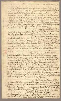 Abigail Adams Bunker Hill Letter