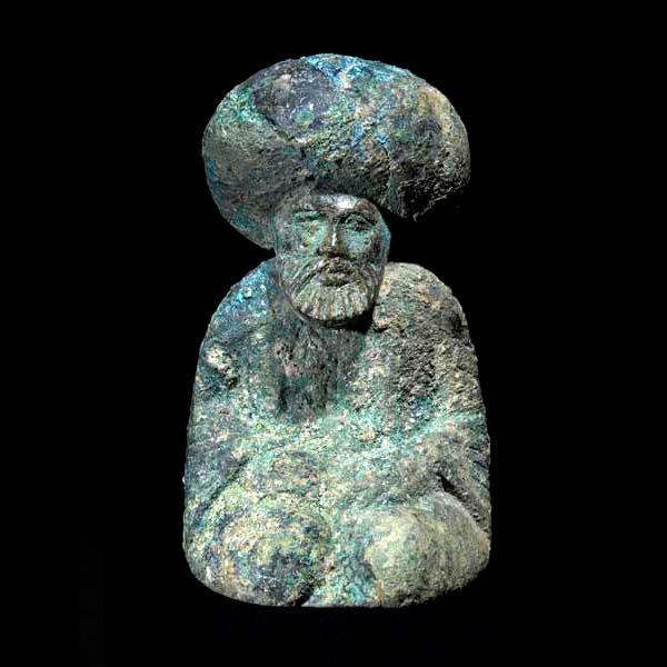 BronzeChessPieceofCaliphHarunalRashidAM0098