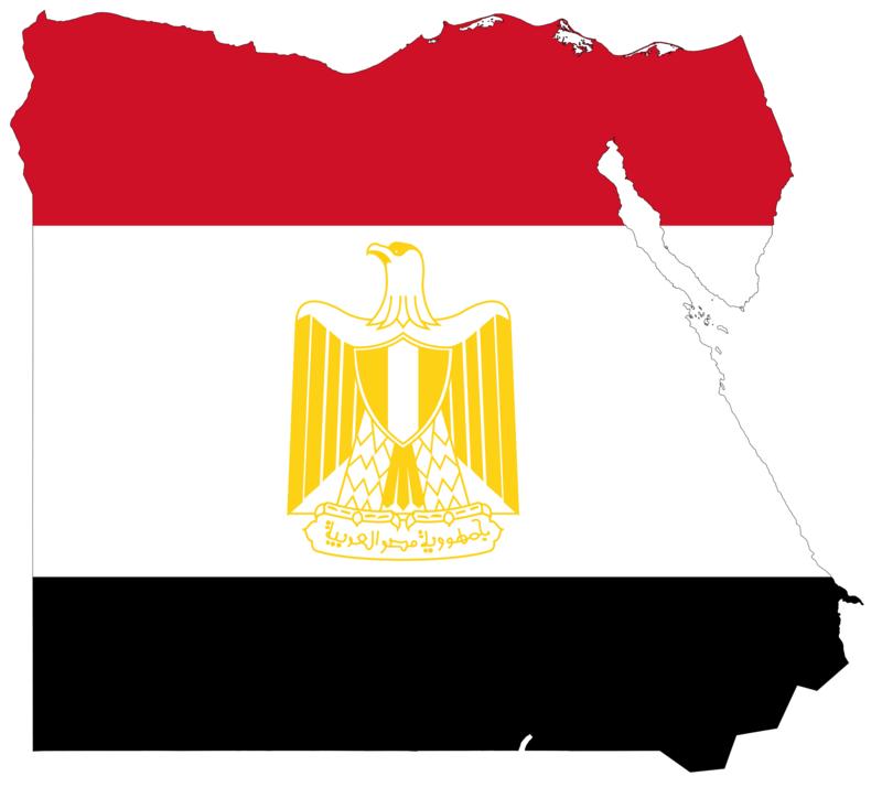 Egypt_flag_map