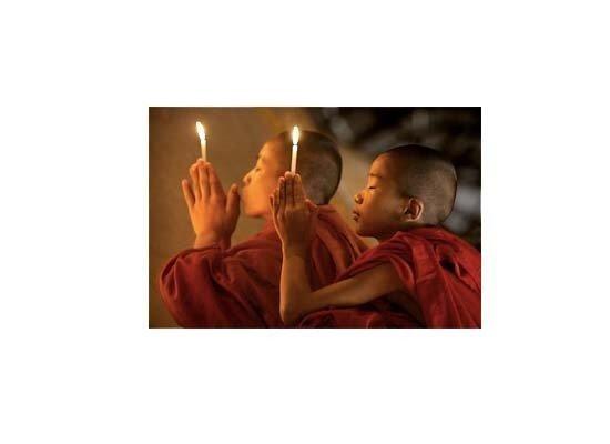 Buddhist Novices