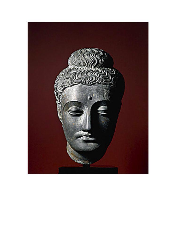 Gandhara Bodhisattva 1
