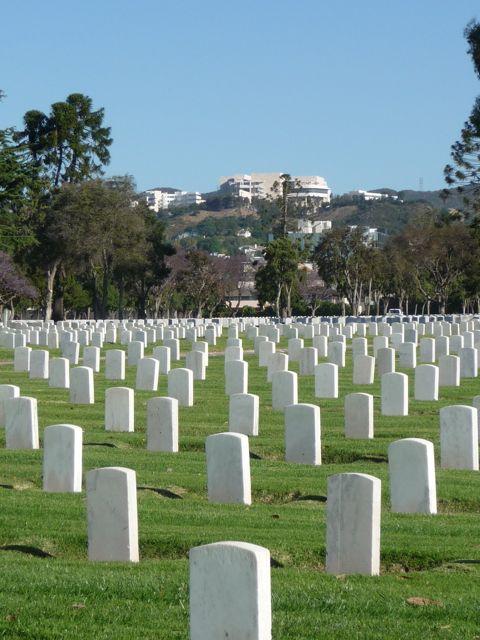 Veterans Cemetery, L.A. 2011