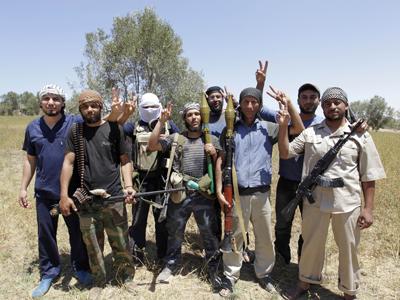 Libyan-rebels
