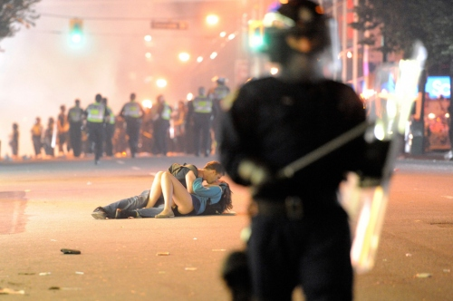 Vancouver Rioting