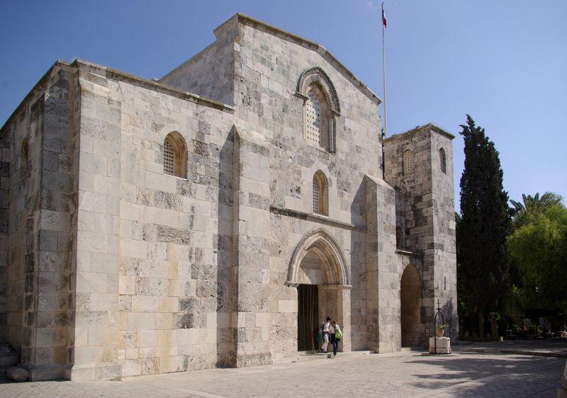 Jerusalem_St_Anna_BW_2