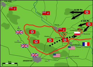 Falaise_Pocket_German_Counterattack