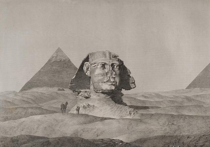 Sphinx-second-pyramid-Description-Egypt