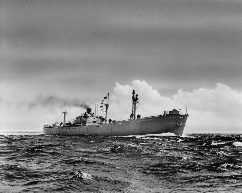 Liberty_ship_at_sea