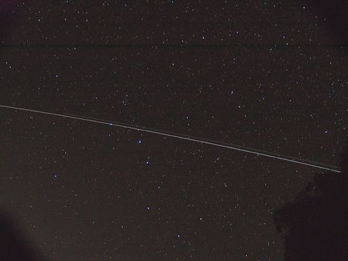 ISS & Shuttle in Ursa Major