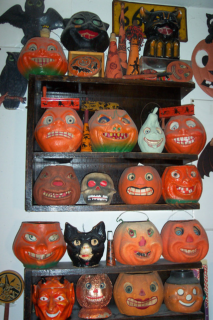 Vintage Jack-O-Lanterns