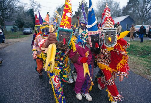 Traditional Cajun Mardi Gras Costumes