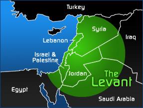 Levantmap