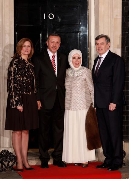 Emine+Erdogan+World+Leaders+Arrive+Downing+czZX3KEQQwUl