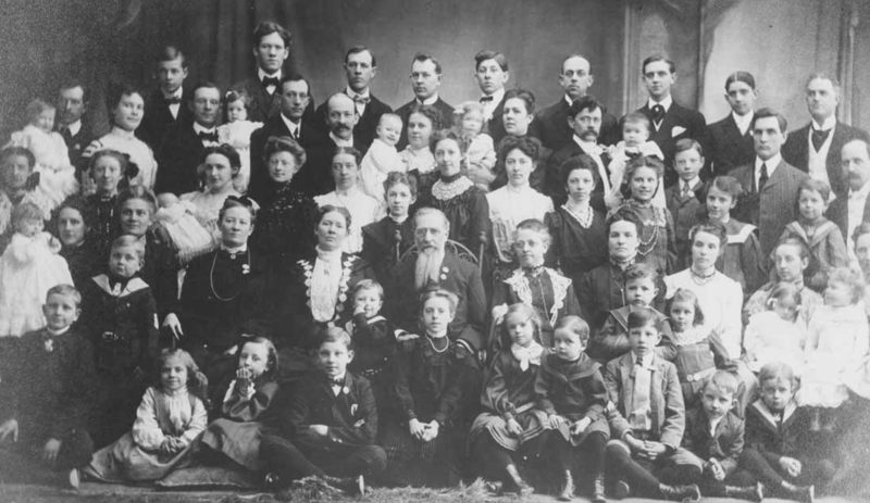 Brigham young family