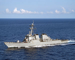 300px-US_Navy_050715-N-8163B-009_The_guided_missile_destroyer_USS_Donald_Cook_(DDG_75)_conducts_a_close_quarters_exercise_while_underway_in_the_Atlantic_Ocean