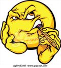 Thinking-creativity-cartoon-face-em_gg59693807