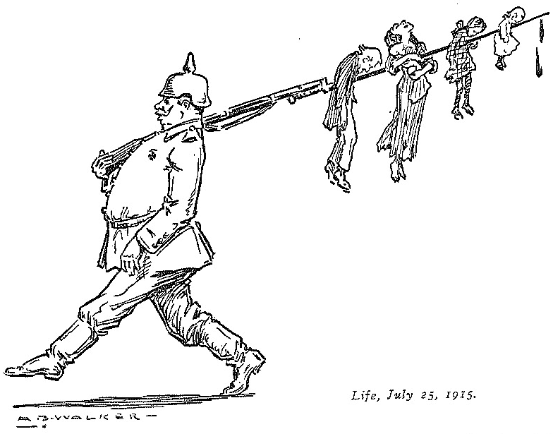 MB_Walker_-_German_bayoneting_children_-_Life_-_July_25,_1915