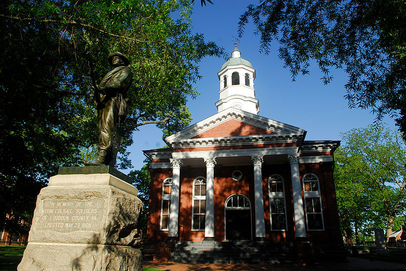 800px-Loudoun_County_Courthouse_in_Leesburg,Virginia