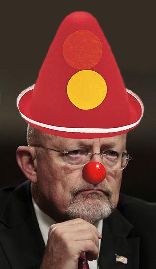 James Clapper Clown