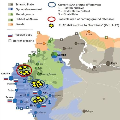 Airstrikes and ground offensives - Copy