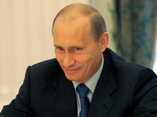 Putin smile
