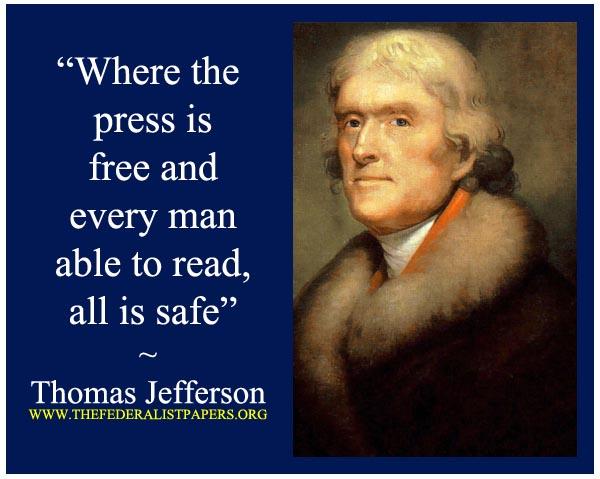 Thomas-Jefferson-free-press