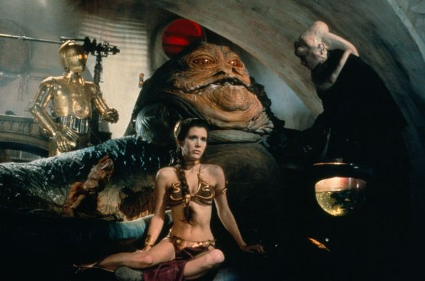 Princess-Leia-plays-captive-to-Jabba