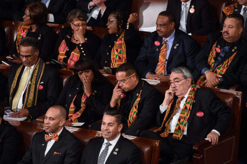 Trump=state-of-the-union-congressional-black-caucus
