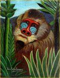 Henri_Rousseau_ macaco na selva