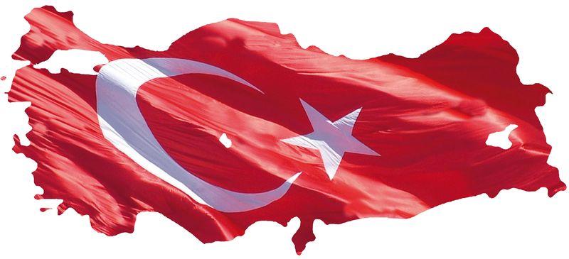Turkish-Flag-Waving-Over-Map-of-Turkey