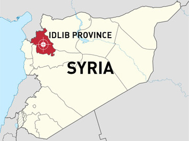 Syria-idlib-map-over-100-kidnapped