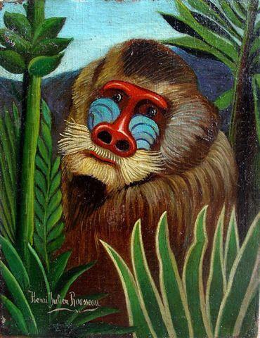 Henri_Rousseau_-_Mandrill_in_the_Jungle