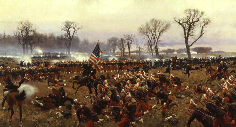 Battle-of-Fredericksburg-Carl-Rochling
