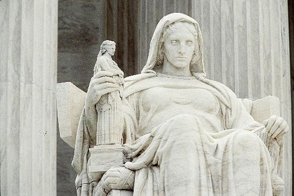 Lady Justice US Supreme Court