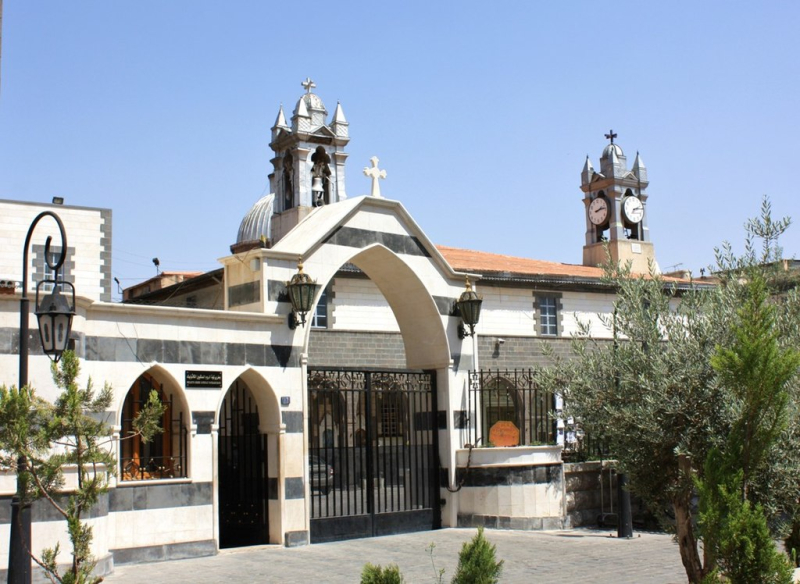 1024px-Melkite_Greek_Catholic_Church _Damascus _Syria