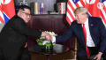 Rocket Man meets the President