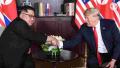 Rocket Man meets the President