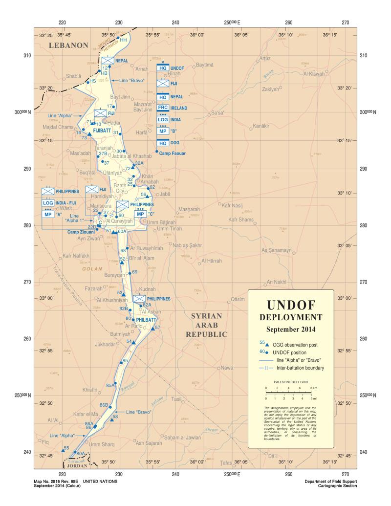 UNDOF_deployment_September_2014