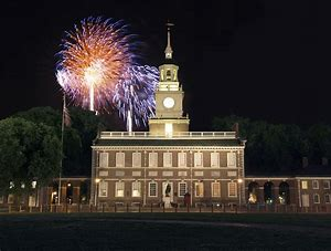 INDEPENDENCE HALL FIREWORKS