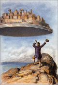 Gulliver-discovers-laputa-from-1910-edition-of-gullivers-travels