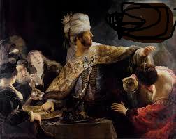 Belshazzar's feast (2)