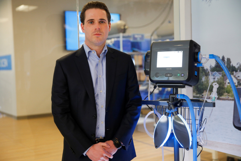 Ventec venticlator and CEO