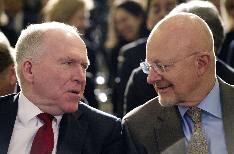 Brennan and Clapper