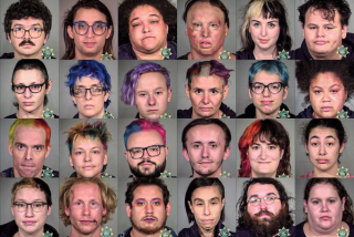 Arrested in Portland
