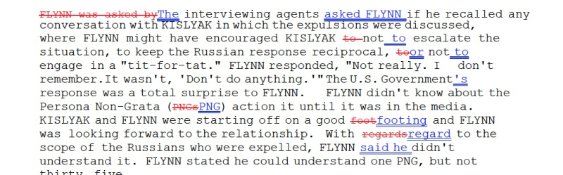 Michael Flynn's Conversation With Kislyak