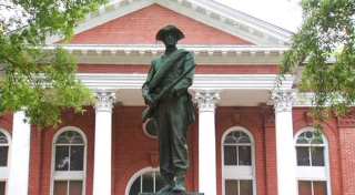 Leesburg-statue
