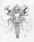 Nesty_pencilwork_death_on_a_bike_tattoo_design_by_Dethzen