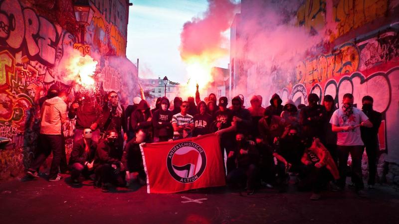 Antifa mob rule