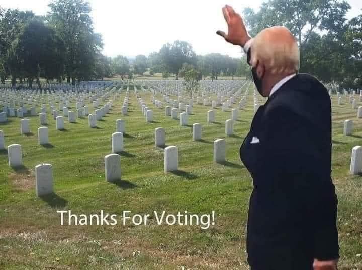 Joe Thanks His Voters